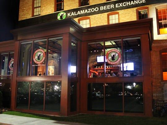 Kalamazoo Beer Exchange boasts an impressive beer list,