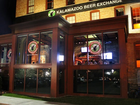 Kalamazoo Beer Exchange boasts an impressive beer list, with 28 handles that tend to favor Michigan brews.