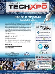 The Florida TechXpo begins Friday in Melbourne. The event showcases the area's technology and innovation.