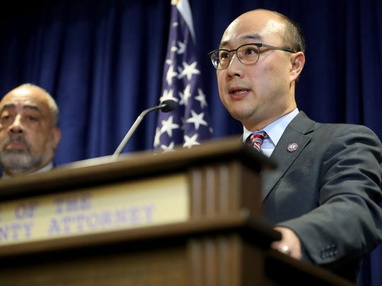 Ramsey County attorney John Choi announces that Minnesota police officer Jeronimo Yanez will face three charges in the fatal shooting of Philando Castile during a July 6 traffic stop. Yanez has been charged with second-degree manslaughter in the killing of Castile, a black man whose girlfriend streamed the gruesome aftermath of the fatal shooting live on Facebook.