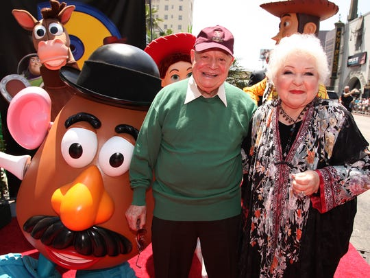 HOLLYWOOD, CA - JUNE 13: Don Rickles and Estelle Harris