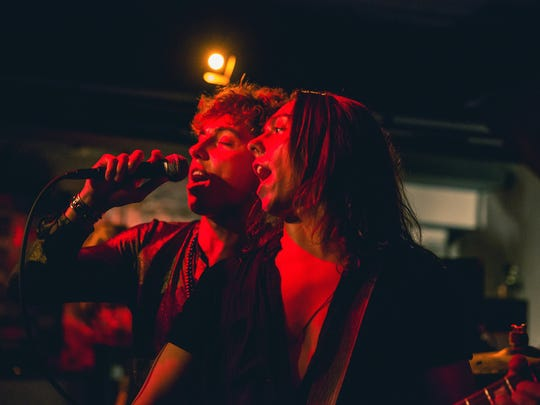Brothers Josh Kiszka (left) and guitarist Jake Kiszka