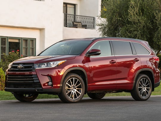 The 2018 Toyota Highlander.