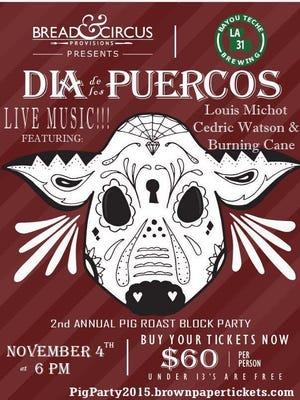 Dia de los Puercos is Nov. 4 at Bread & Circus Provisions.