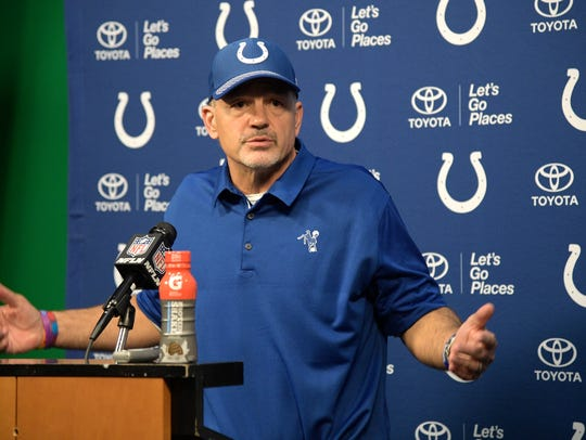 Indianapolis Colts head coach Chuck Pagano: Every game