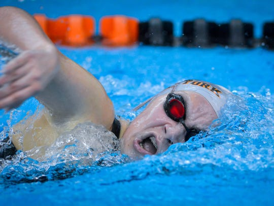 Micah Sopko is one of the leading returning swimmers for the Central York High School swimming team. John A. Pavoncello photo