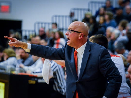 Coach Jon Eyster, seen here in a file photo, has his Bobcats tied for first place in York-Adams Division I.