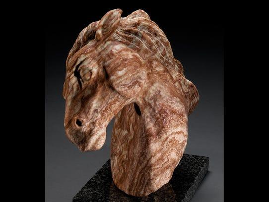 Sculpture by Gene Reineking. His work will be featured
