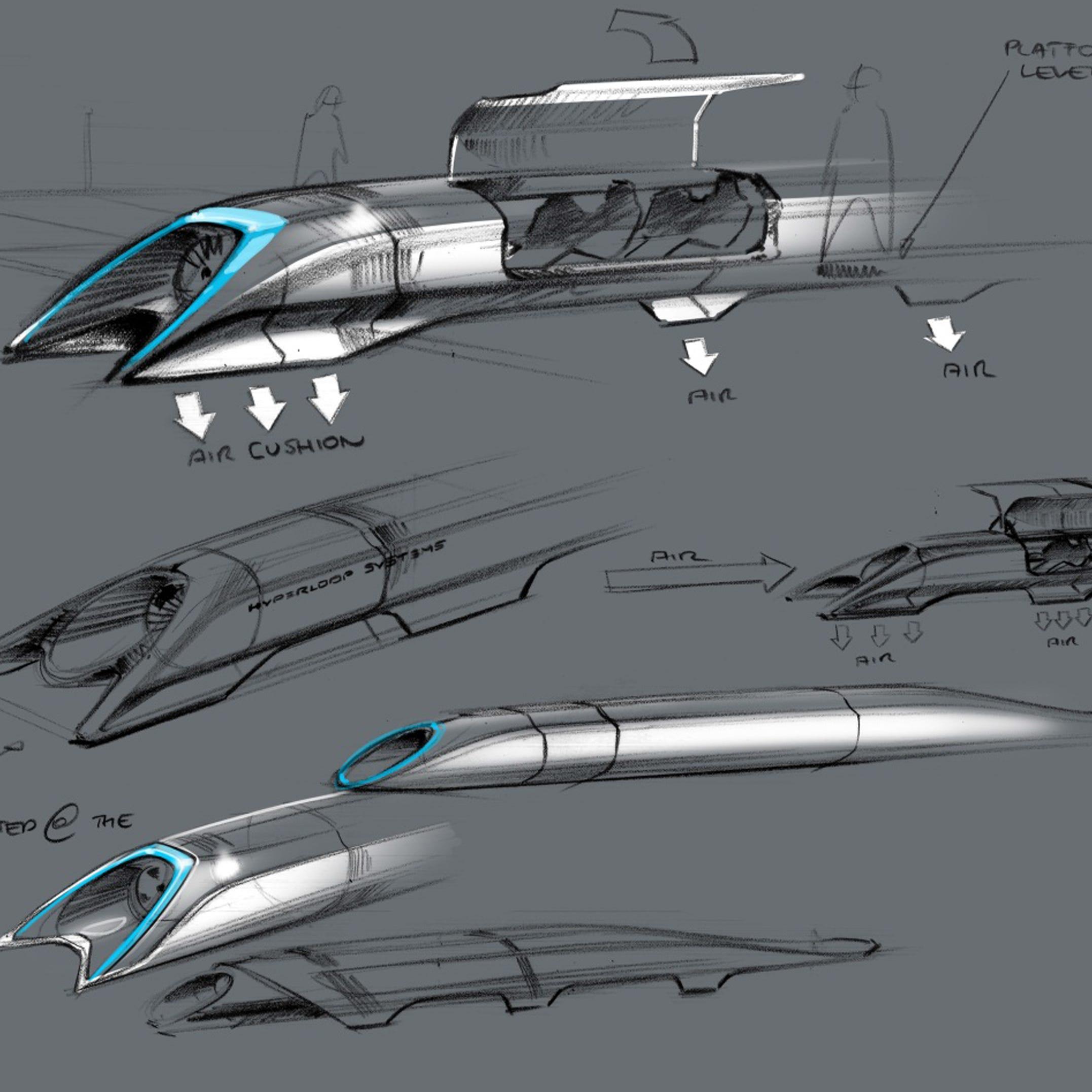 'Hyperloop' could put brakes to high-speed railways
