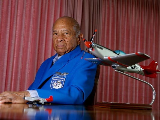 Tuskegee Airman Harry Stewart