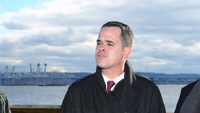 State Sen. David Carlucci in December 2016 called on the Thruway Authority to keep its promise regarding a Tappan Zee Bridge tolls task force.