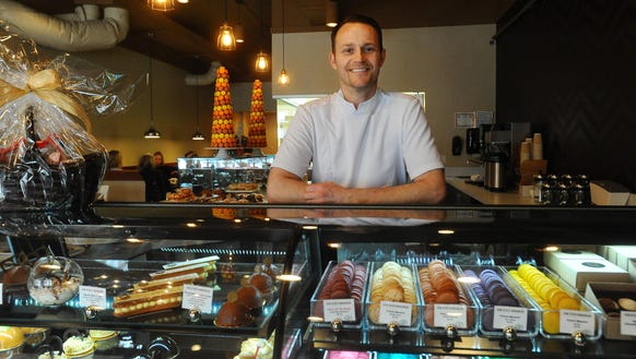 Pastry Chef Chris Hanmer is the owner of CH Patisserie