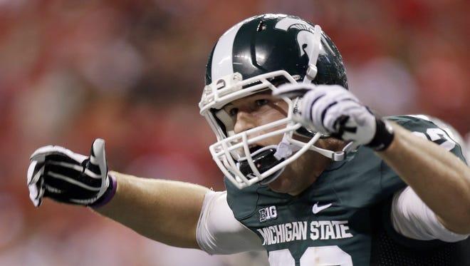 Michigan State's Josiah Price.