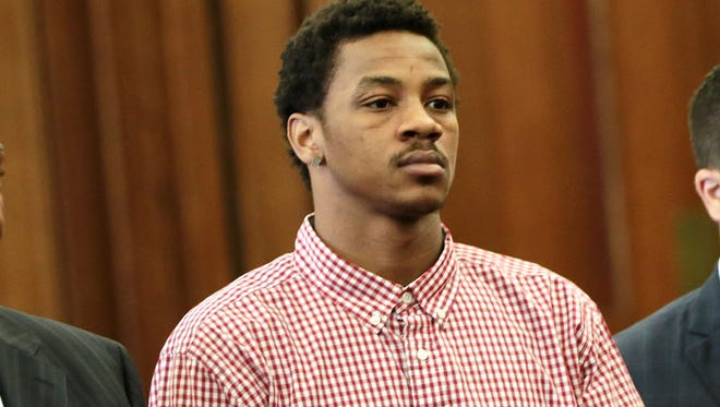 Keith Appling listens during a previous arraignment on gun charges on May 4, 2016.