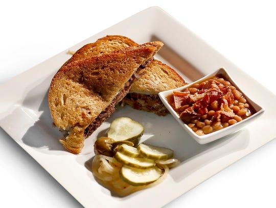 "Aramark will serve the ""Beantown Griller"" at Super"
