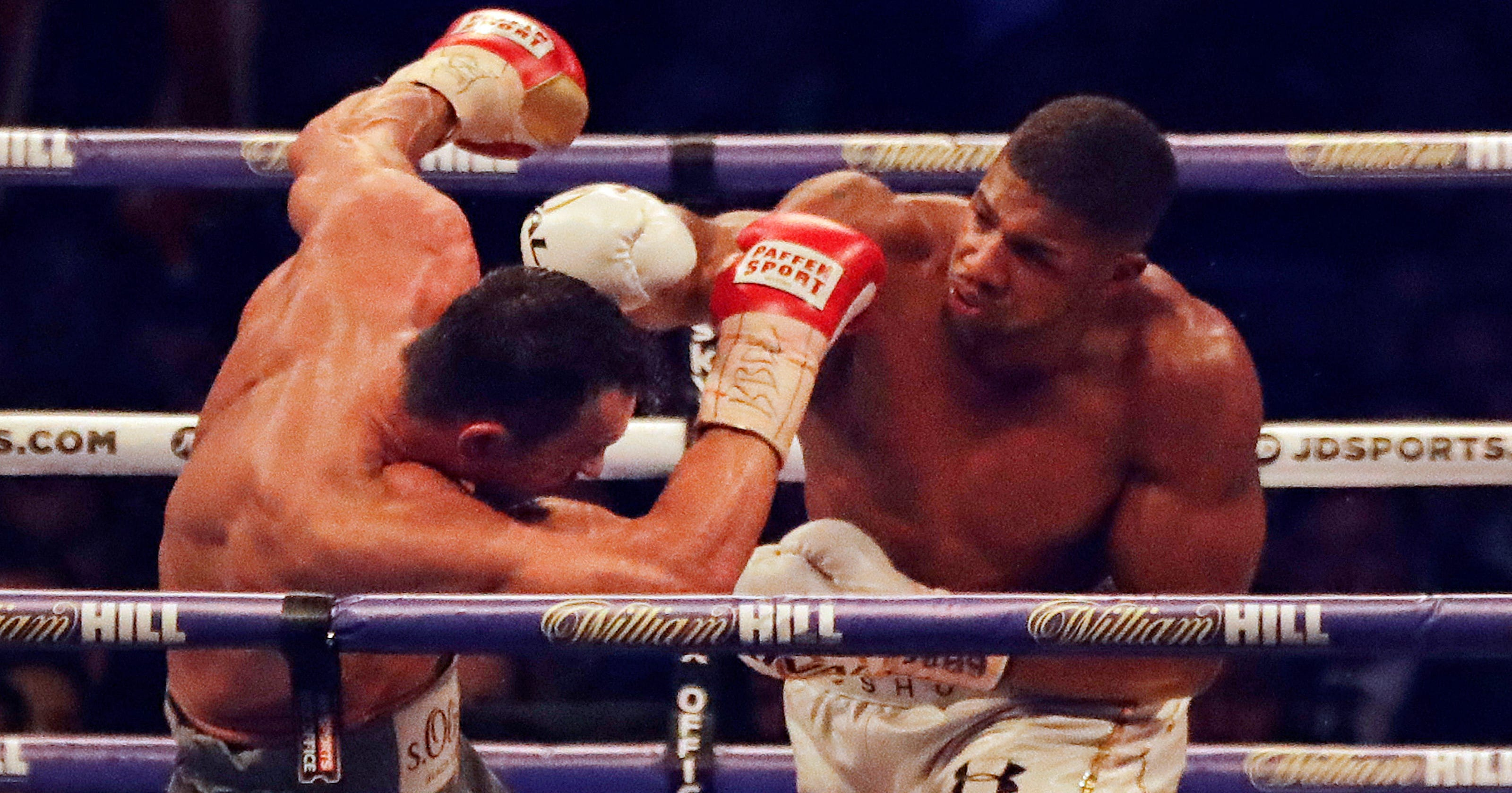 64cb5b5971a Anthony Joshua beats Wladimir Klitschko in epic heavyweight fight