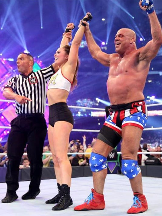 WWE Raw GM Kurt Angle on the Superstar Shake-up and Ronda Rousey's debut