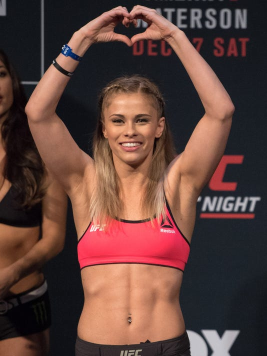MMA: UFC Fight Night-VanZant vs Waterson-Weigh Ins