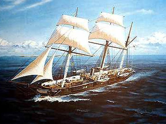-CSS Alabama, Civil War warship commanded by Raphael