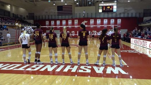 ASU volleyball broke a two-match losing streak Friday night with a win at Washington State.