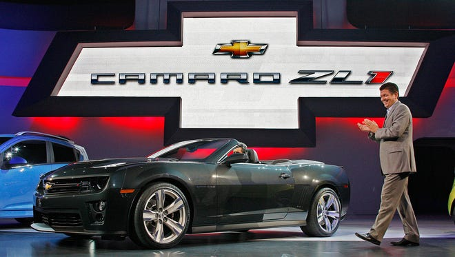 The new Chevrolet Camaro ZL1 convertible makes its debut at the Los Angeles Auto Show in 2011. Now, a next-generation Camaro is coming