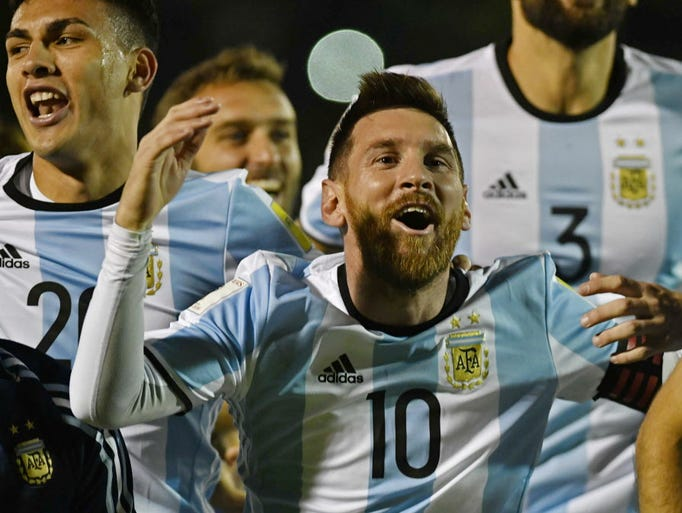 Argentina. How qualified: CONMEBOL third place