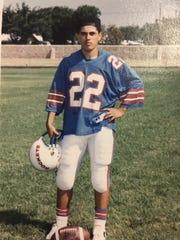 Enrique Guzman during his time at Irvin High School.