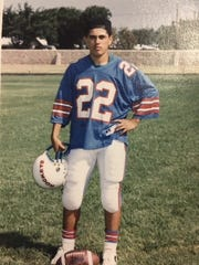 Enrique Guzman during his time at Irvin High School.