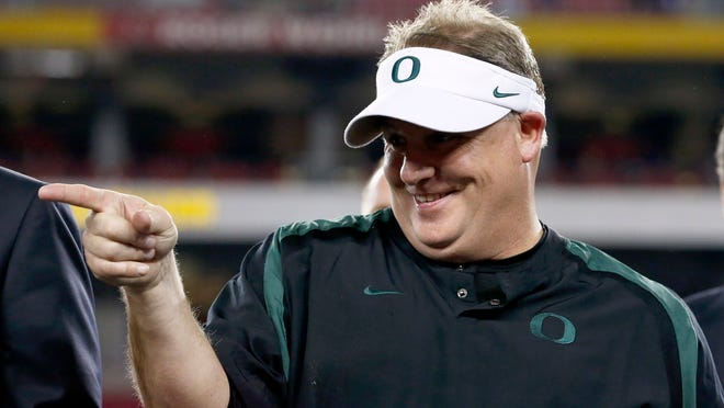 Oregon, scratch that, Eagles head coach Chip Kelly