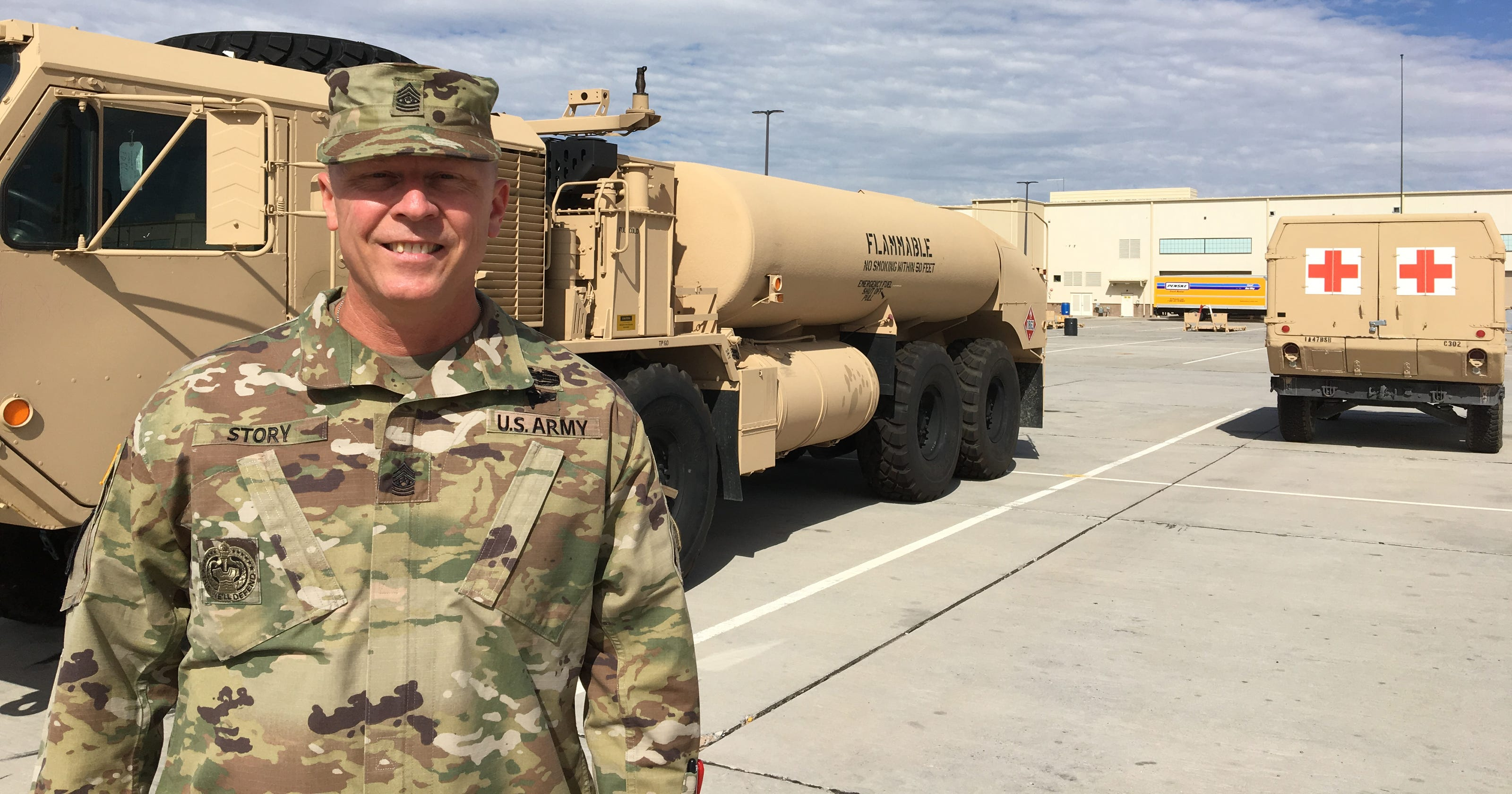 CSM William A  Story to lead Modern Pioneers on deployment