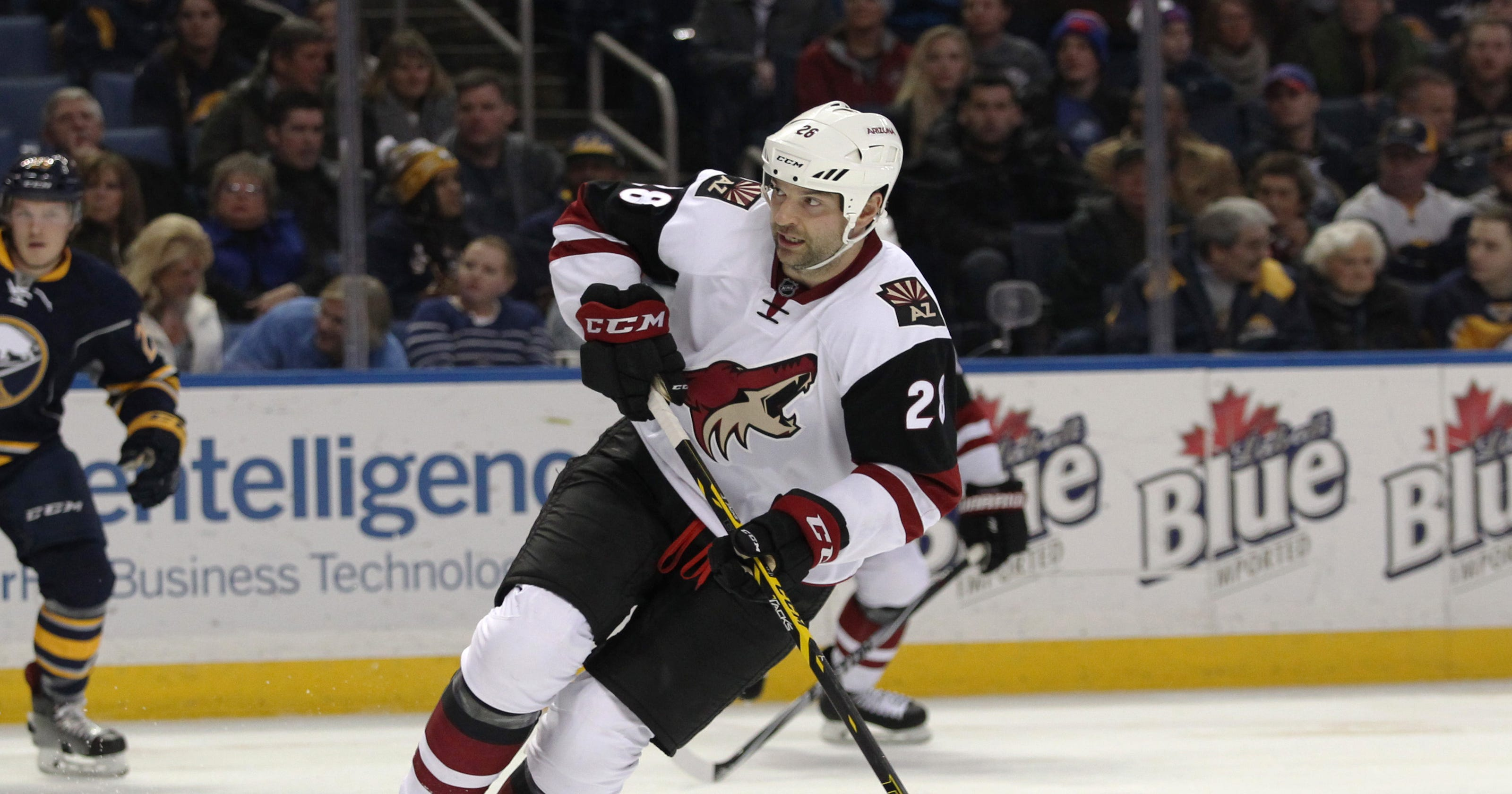 809160c87 Coyotes  John Scott voted Pacific Division captain for NHL All-Star Game