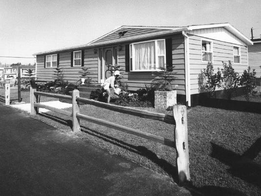 Mobile home park pic