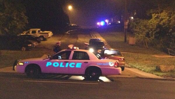 Police investigate Westwood shooting early Thursday.