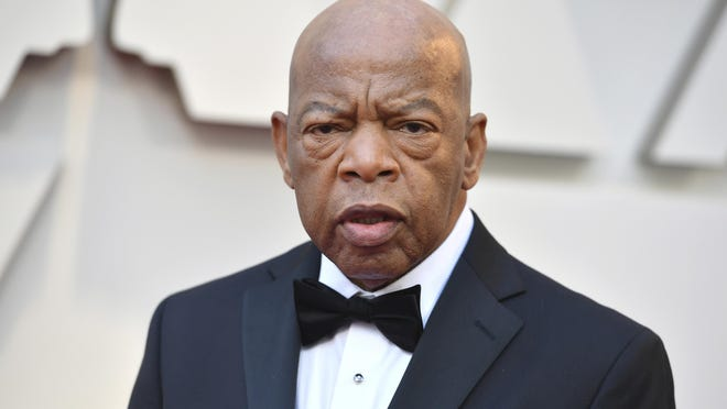 "FILE - This Feb. 24, 2019 file photo shows Rep. John Lewis, D-Ga at the Oscars in Los Angeles. CNN Films is developing a documentary on civil rights icon and Georgia congressman John Robert Lewis. The network announced Wednesday, May 8, that ""Gideon's Army"" director Dawn Porter is helming the project. She began shooting the 79-year-old Lewis last year ahead of the midterm elections."