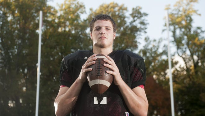 Haddonfield's Brendan Gilmartin may not look like a quarterback because of his size, but his arm and IQ tell a different story.