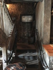 Only those staying overnight at the Three Broomsticks