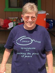 Peace Village director Susan Finch said organizers
