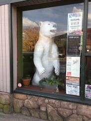 The former Polar Bar mascot now spends most of his