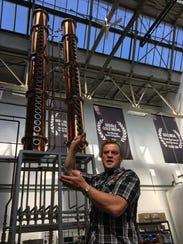 Valentine Distilling Co. owner and CEO Rifino Valentine