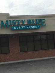 The Misty Blue Event Venue opened in September at 6978