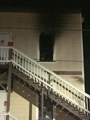 A fire at the Leewood Hotel in Ventura on Jan. 3, 2017, displaced more than 40 residents.