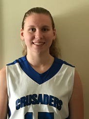 Cumberland Christian junior point guard Shannon Connolly.