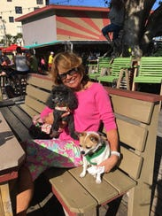 Cissy Betz often takes her dogs to Archie's Seabreeze