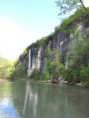 Established in 1972, the Buffalo National River flows