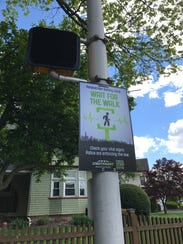 Signs like this one on Franklin Street in Bloomfield