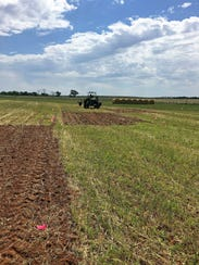 Tillage systems research is ongoing at the New Mexico