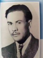 A younger J. Manuel Corral.
