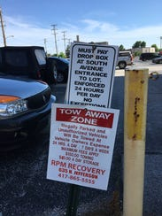 Answer Man: The man who manages this downtown parking