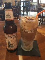 The Not Your Father's Root Beer Float at Parkers Blue