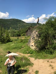 During a trip up the hills, writer Bruce Dorries got